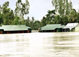 Flood affects over 5 lakh in 20 districts